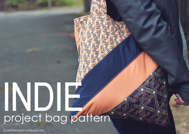 luvinthemommyhood: Indie Project Bag Pattern & an Art Gallery Fabrics Giveaway!