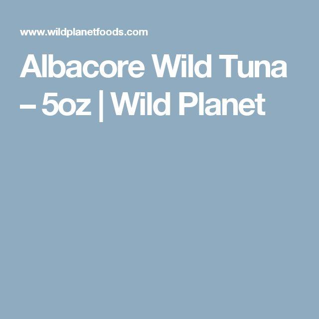 Albacore Wild Tuna – 5oz | Wild Planet