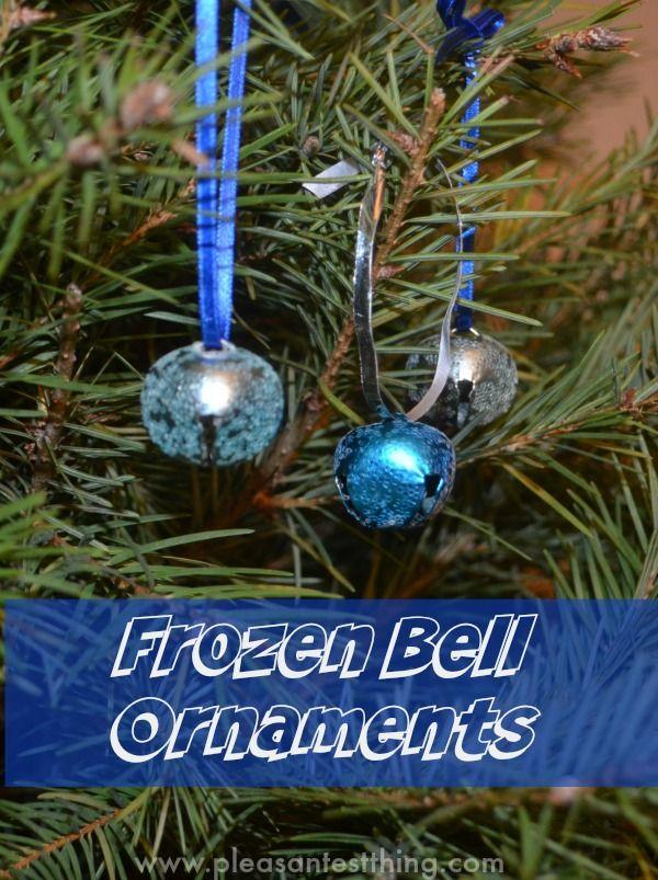 Polar Express Craft - Christmas Bell Ornament