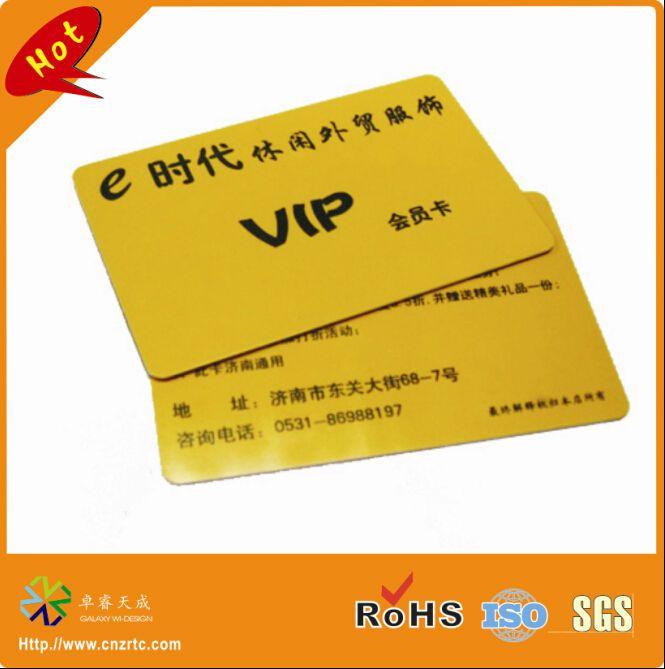 Дешевое Cr80 формат кредитной карты круглый угол обе стороны печать пластиковые пвх vip карта, Купить Качество Визитные карточки непосредственно из китайских фирмах-поставщиках:             Новый!                    CR80 кредитные карточки размер круглый угол обе стороны печать пластиковых ПВХ биз