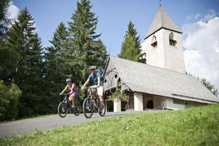 Radfahren im Eggental/Andare in bici nella Val d'Ega