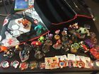 DISNEY INFINITY LOT: 23 FIGURES 2 GAMES 1 CASE 1 BASE XBOX 360 USED