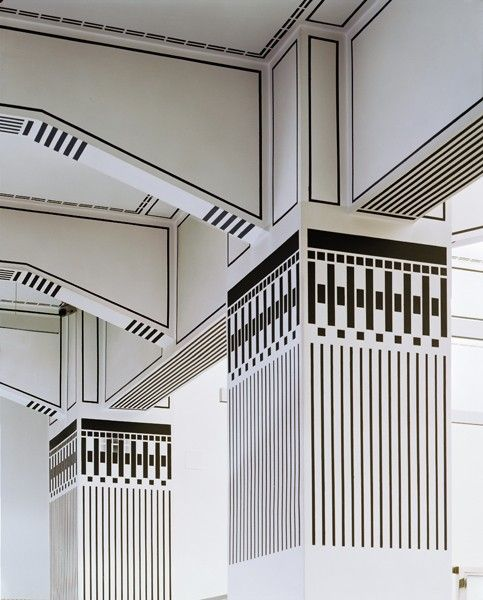 Otto Wagner - Post Office Savings Bank Building in Vienna.