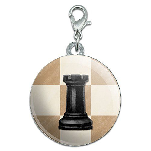 Black Rook Chess Set Stainless Steel Pet Dog ID Tag -- Click image for more details.
