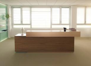 Archiutti | office forniture RECEPTION TOKI  Design: Perin&Partners