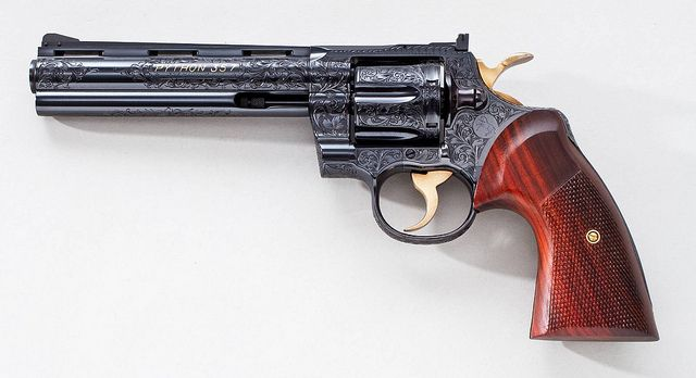 The Magnificent Colt Python .357 Magnum Revolver by Kilo 66 (Thanks For 2.9 Million Views & Counting), via Flickr