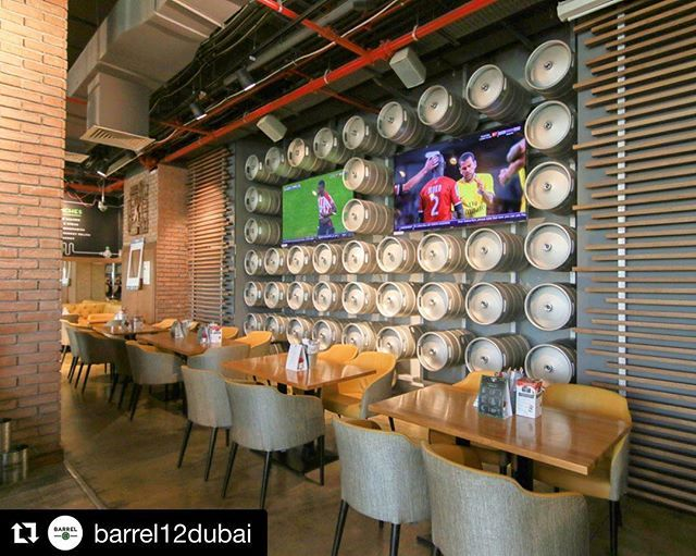 Designed by @serendipitybydesign #Repost @barrel12dubai with @get_repost  Gather your friends and head over to Barrel 12 to catch Scotland v England and Ireland v Wales at the 6 Nations LIVE today. Showing at both Palm Jumeirah and Jumeirah Islands.