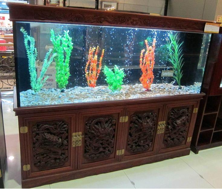 14 best creative aquarium decorations images on pinterest for Creative fish tanks