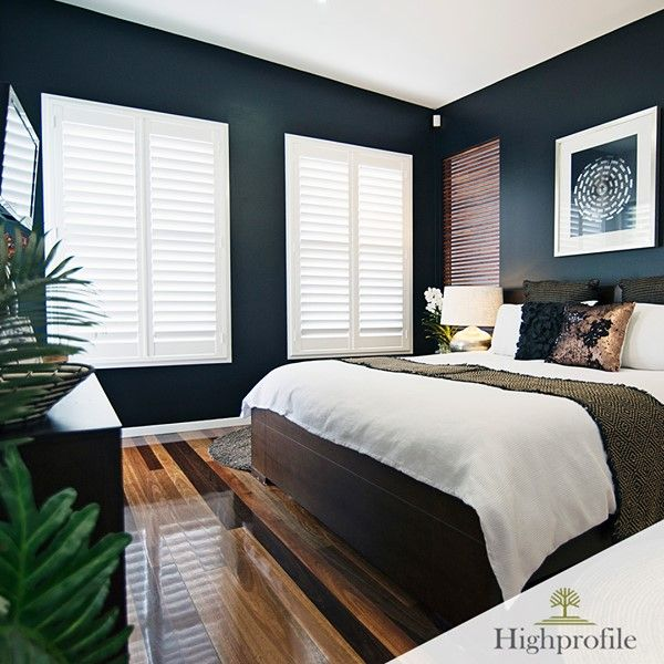 Pin On Bed Room #plantation #shutters #in #living #room