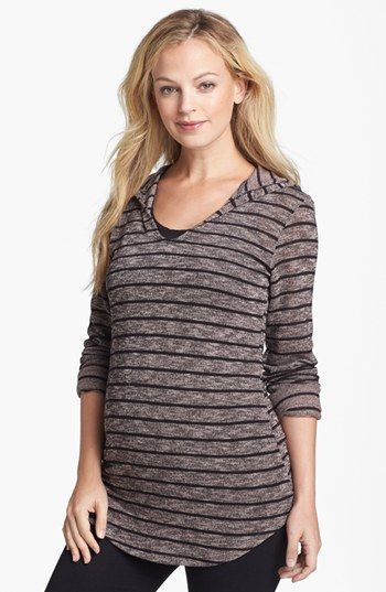 Nom Maternity 'Aria' Maternity Hoodie available at #Nordstrom