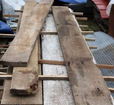 ANTIQUE RECLAIMED ROUGH CUT OAK LUMBER ARCHITECTURAL SALVAGE CABIN HOME DECOR