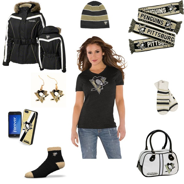 Pittsburgh Penguins Outfit #Penguins http://www.fansedge.com/Pittsburgh-Penguins-Womens-Apparel-_1851976173_PG.html?social=pinterest_wwls_penguins