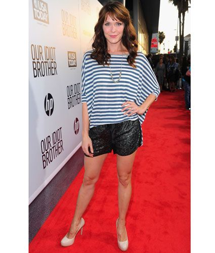 Not only do I love that top, but I love her Katie Aselton's character on 'The League.'
