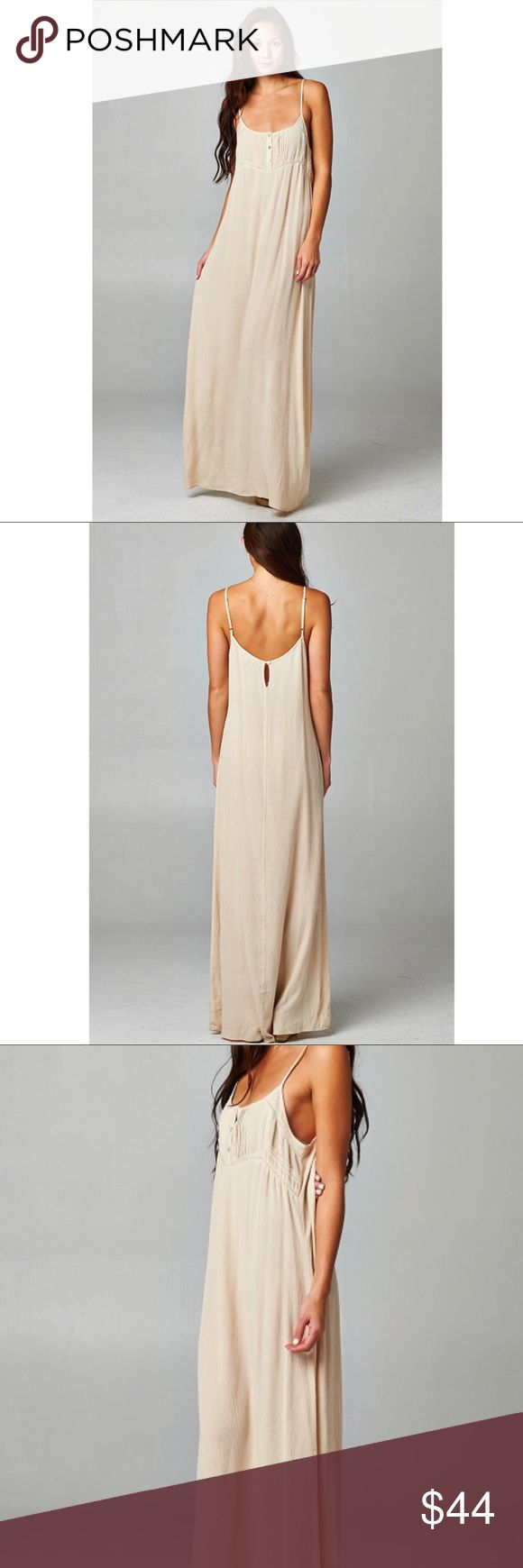 🆕 Gorgeous Beige Maxi Dress from Lovestitch An absolutely stunning dress that is so versatile you can wear it for almost any occasion. You won't regret adding this dress to your wardrobe. Lovestitch Dresses Maxi