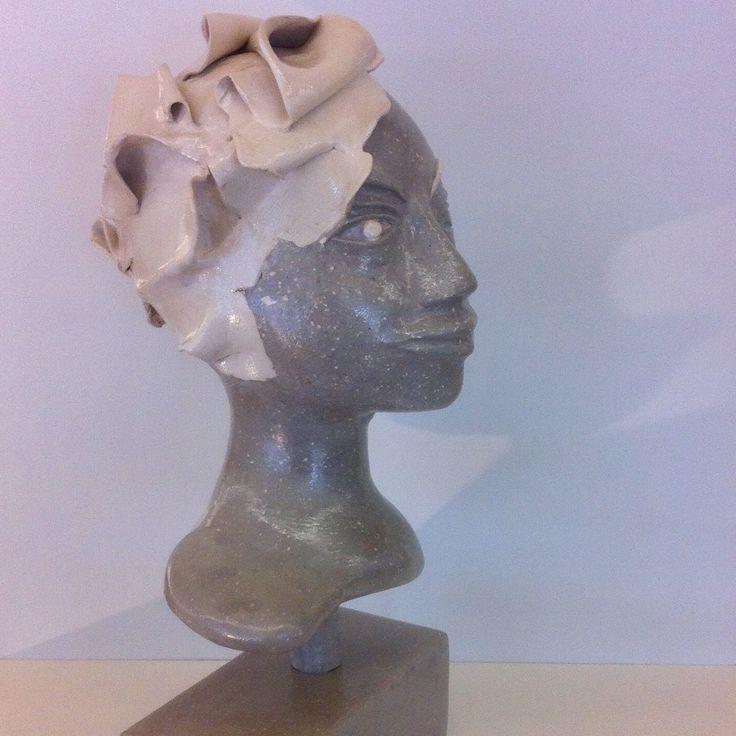 "Sculpture ""granite lady"""