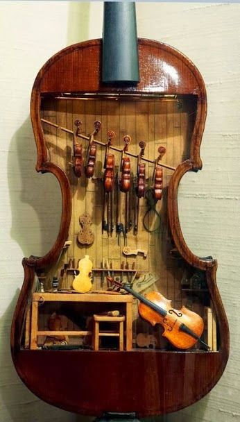 A Violin Shop (The tiny one can play)