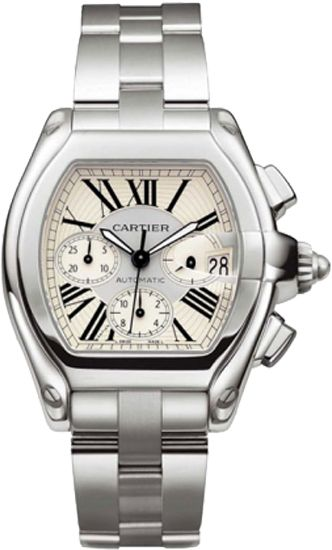 W62019X6 Cartier Roadster XL Automatic Chronograph