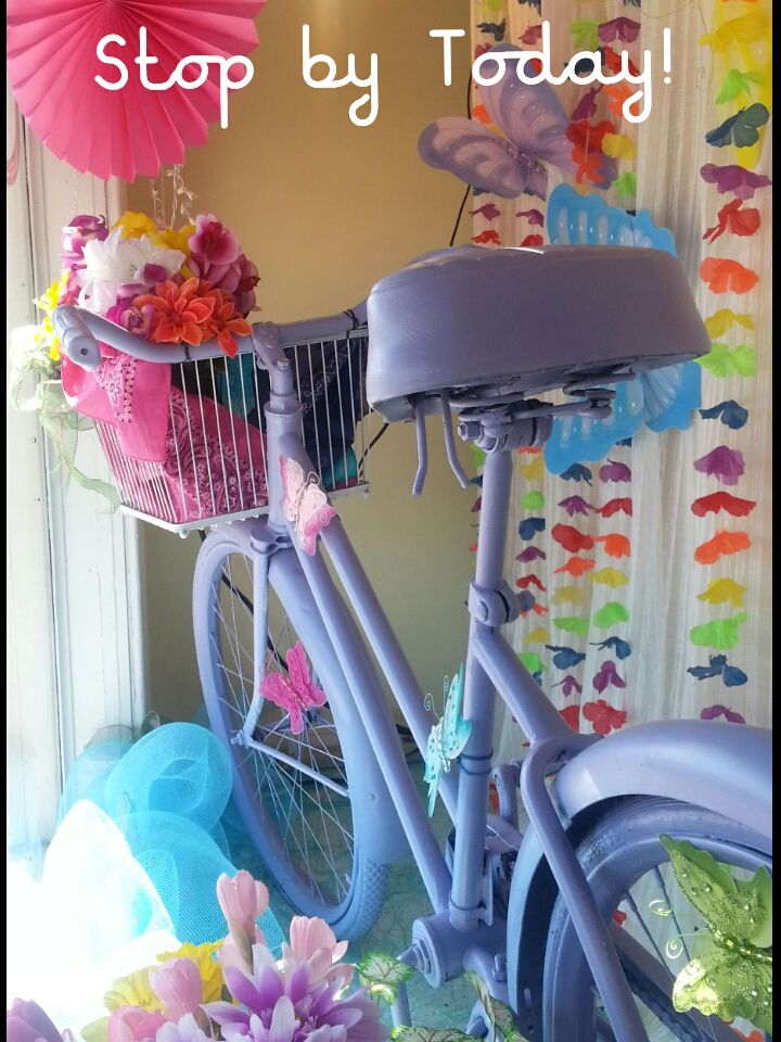Bike Re-Do in Lavender!