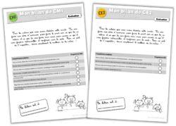Evaluation - Bilans de vocabulaire CE2-CM1