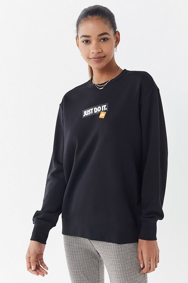 df85bd57 Nike Just Do It Crew-Neck Sweatshirt | New Arrivals | Sweatshirts ...
