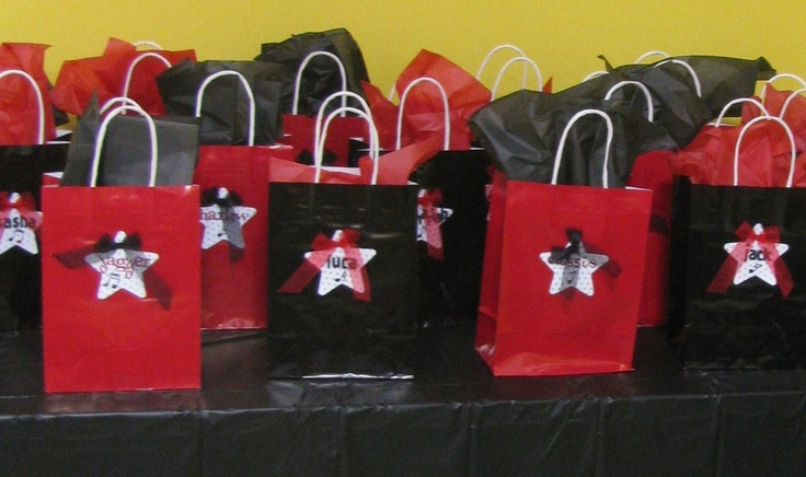 Michael Jackson Party goody bags