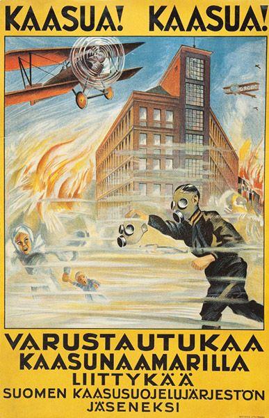 Mainos: Kaasunaamari, n. 1938