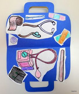 Tippytoe Crafts: Doctor's Kit