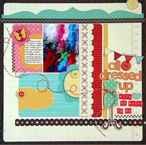 All Dressed Up **New** My Little SHoebox - Scrapbook.com: Scrapbook Com, Scrapbook Layout