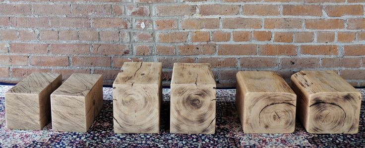 Rustic Bookends - Reclaimed Bookends - Accent Pieces - Home Decor - Office Decor - Group of 3 - Pairs of Bookends by Harvestbilt on Etsy