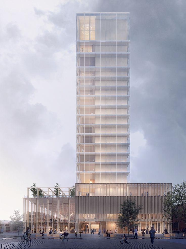 Culture suédoise avec hôtel – Plans en bois de White Arkitekter