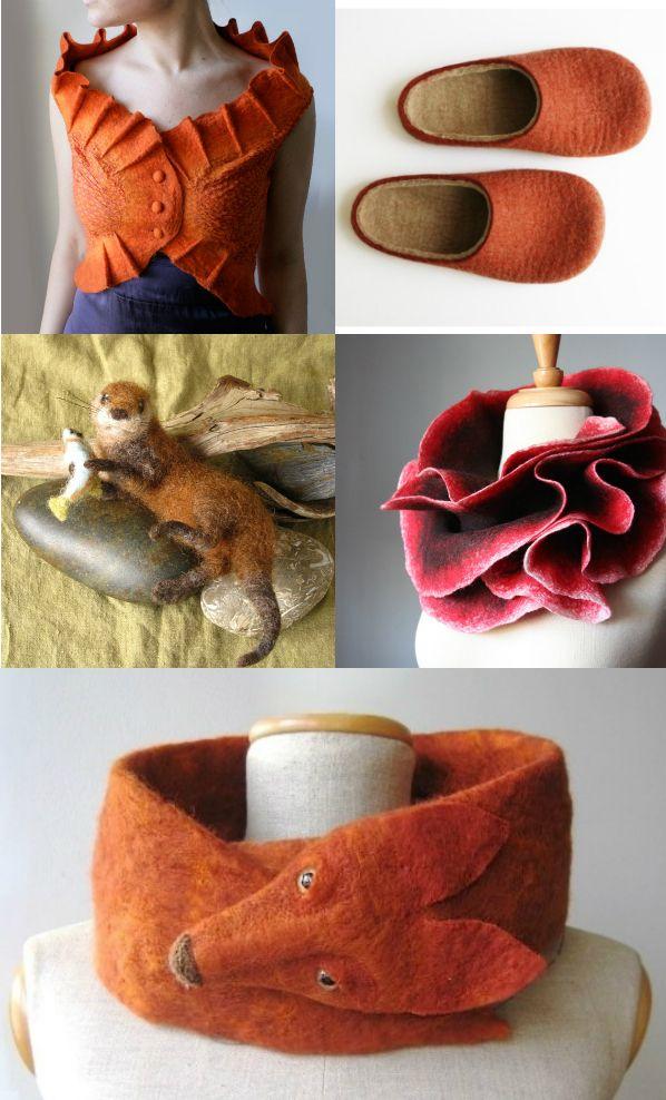http://jennyhoople.com/blog/natural-favorites-felted-wool/