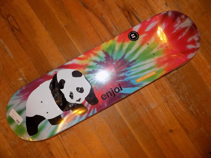 Blank Enjoi skateboard deck