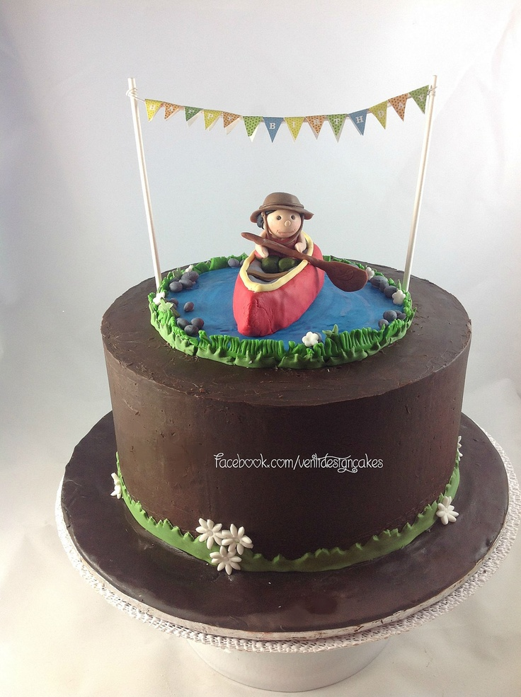 Images Of Canoe Cakes