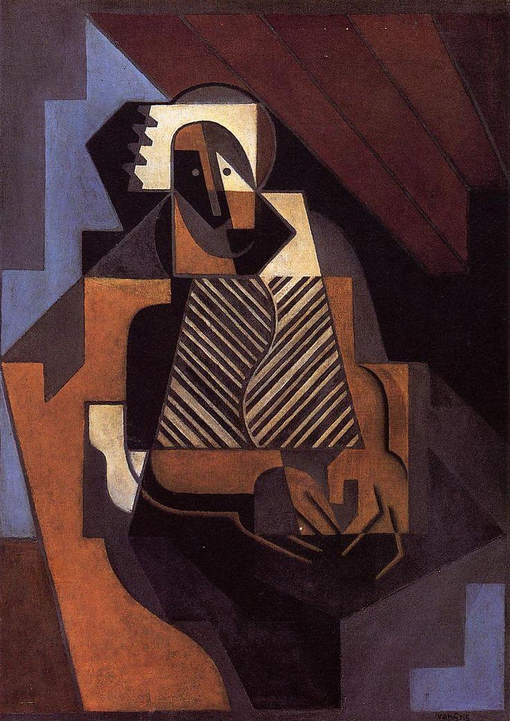 The Athenaeum - Seated Peasant Woman (Juan Gris - )