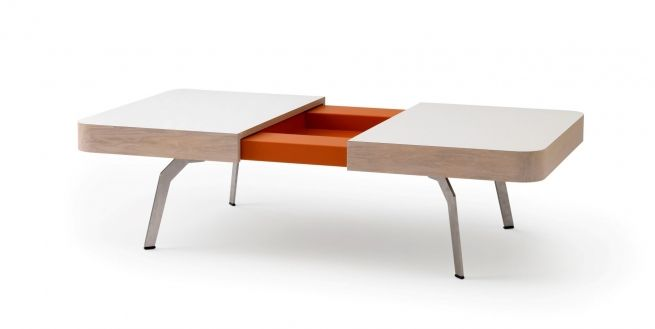 Originele salontafel met verborgen ruimte