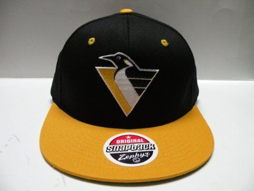 c296aacc ... diamond snapback hat nhl hockey cd90f 12203; germany zephyr nhl  pittsburgh penguins black gold 2 tone retro snapback cap by zephyr. save