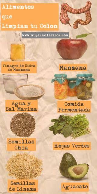 11 best alimentos para colon y bajar de peso images on - Alimentos para perder peso ...