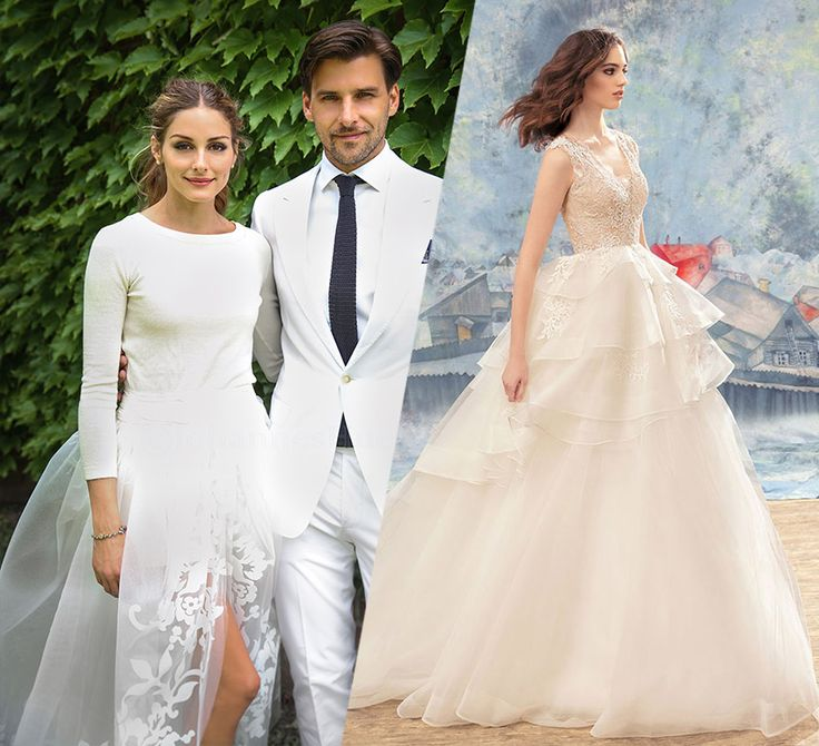Top celebrity wedding dress trends from ball gown to sheath, these styles are unique knock outs! | Toronto Wedding Dresses | Papilio Boutique | Fashion