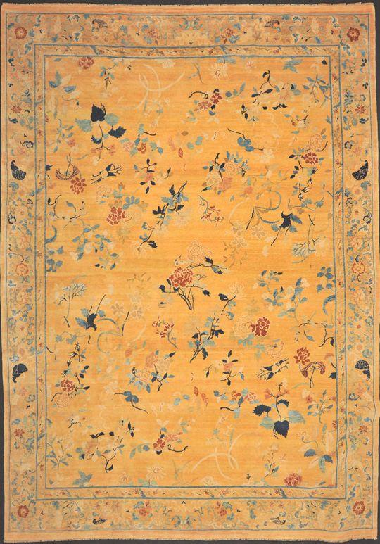 Китайский шерстяной ковер ручной работы