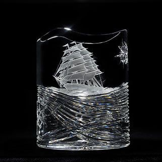Waterford Oval Vase Tall SHIP Waterford Crystal
