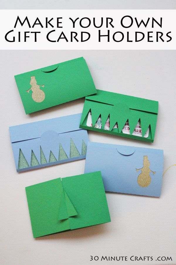 156 best images about holiday gift ideas on pinterest for Christmas card holder craft project