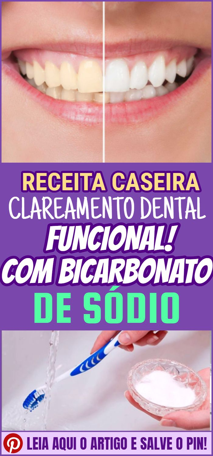 Clareamento Dental Caseiro Com Bicarbonato De Sodio Clareamento
