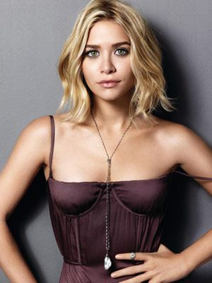 olsen twins short hair | Ashley Olsen: Marie Clare