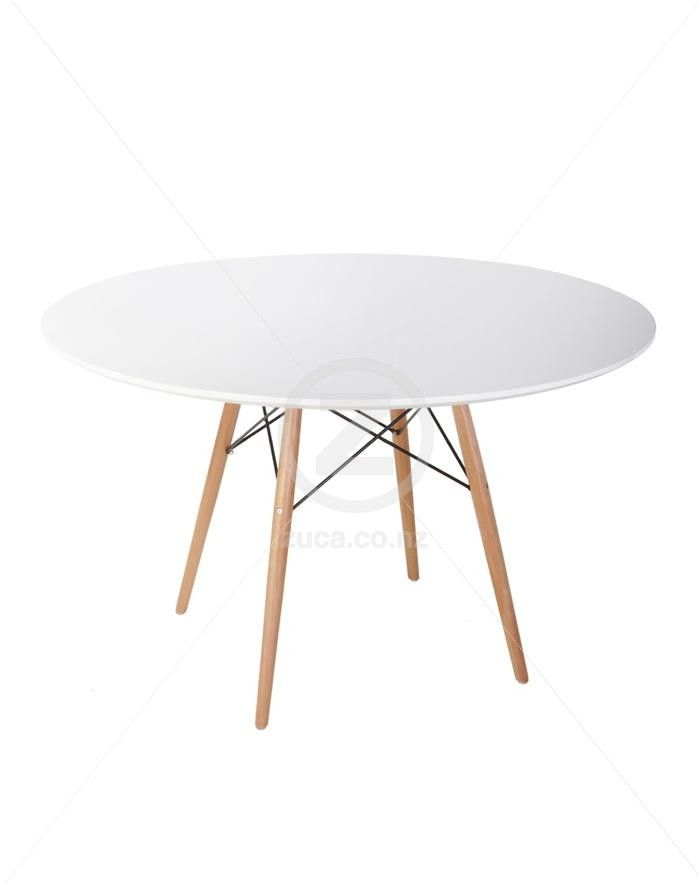 Replica Eames Dining Table   120cm   ZUCA   Homeware  Chairs  Replica  Furniture 75 best Tables images on Pinterest   Office furniture  Dining  . Dsw Replica Chairs Nz. Home Design Ideas