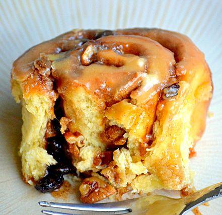 Overnight Caramel Pecan Cinnamon Rolls | MomOnTimeout.com - Make the ...