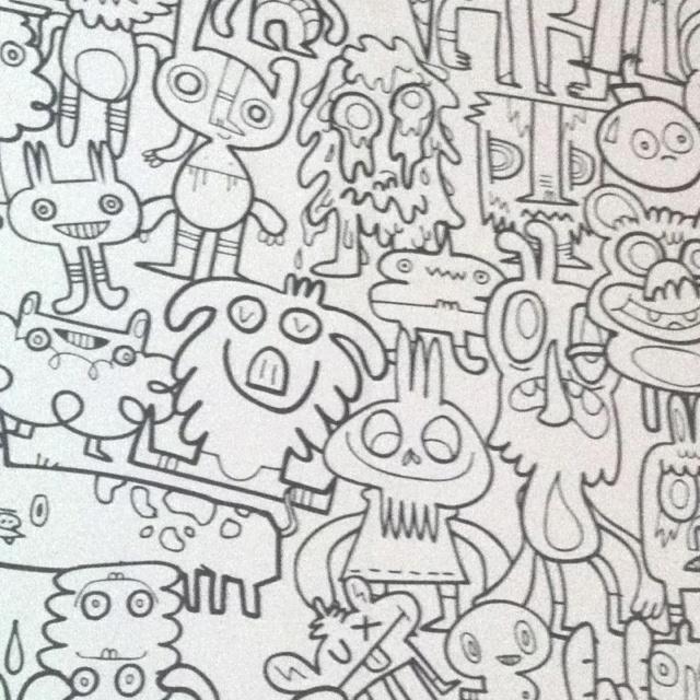 John burgerman wallpaper