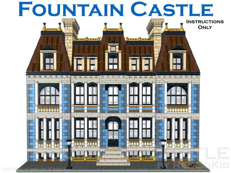 1000 Ideas About Lego Modular On Pinterest Lego Lego