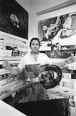 Robert Rauschenberg (Port Arthur, Texas, 22 oktober 1925 – Captiva Island, Florida, 12 mei 2008) was een Amerikaanse kunstenaar, die aan de basis stond van de Amerikaanse popart-beweging.