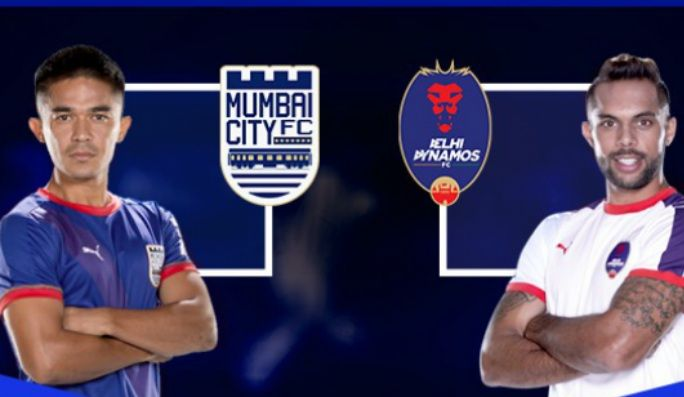 Mumbai City VS Delhi Dynamos Live Streaming ISL 2017 Football Match Today. Indian super league live soccer match score kick off time tv channels team squads