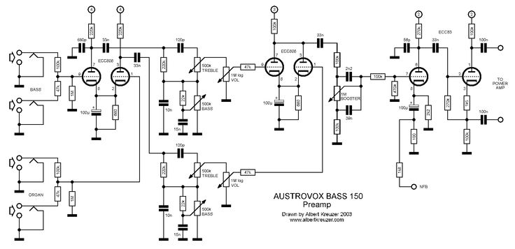 fuzz box 1 circuit schematic diagram